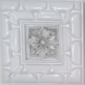 Framed Tile, white