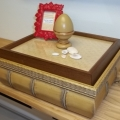 Bamboo Decorative Box with display top