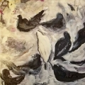 Black Birds, White Birds by Don Watson *SOLD*