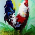 Standing Tall by P. Charles *SOLD*