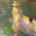 Boating by Don Hatfield *SOLD*