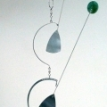Vertical Mobile Wind Sculpture by Bud Scheffel  *SOLD*