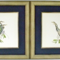 Pair of art after reframing