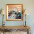 Original Painting by Joanne Miller Rafferty, FRAMED
