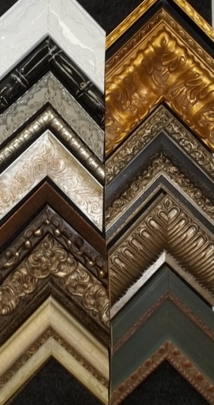 chunky and funky, ornate and wide frames