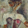 Girl With Pearl Necklace - Jane Bellows