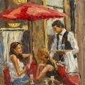 Outdoor Cafe - Karen Wilkerson