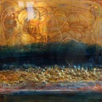 Deepest Blue: Art on copper - Sold