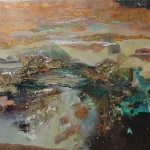Copper Light: mixed media by Joanne Miller Rafferty - Sold