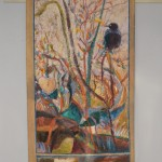 Raven Tapestry by Dorothy Fagan - Sold