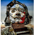 "From junk to art: ""Dali"" by Bernard Pras"